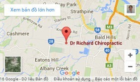 Image of Dr Richard Chiropractic Location on Google Maps